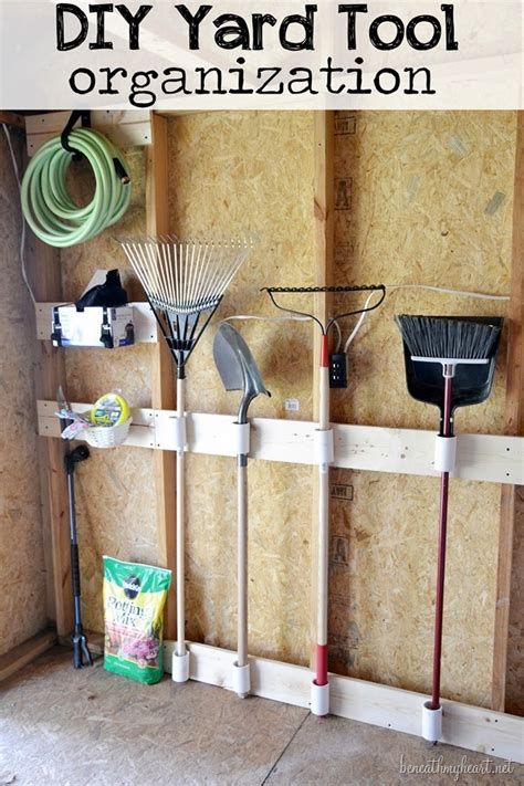 Diy Shed Organization by Tool Shed Makeover 3m Diy Beneath
