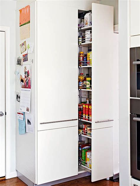 25 kitchen organization and storage tips on the side