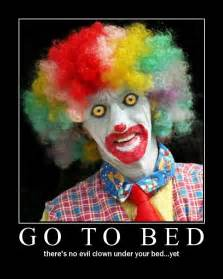 go to bed evil clowns