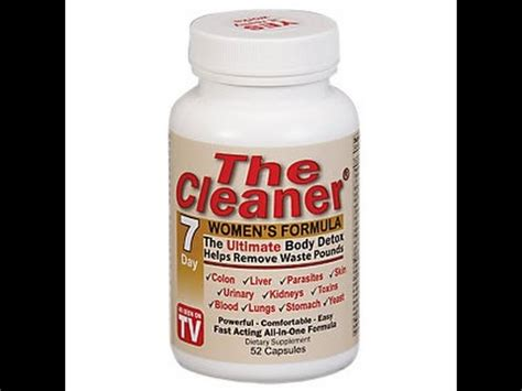 Sonnes Detox Formula 7 by The Cleaner The Ultimate Detox S Formula 7