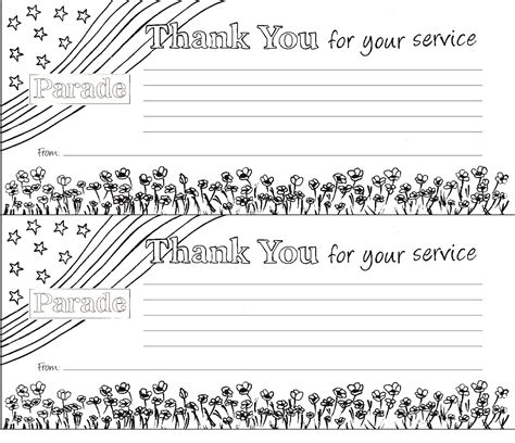 Free Printable Veterans Day Cards To Color