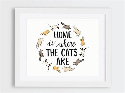 home lovers animal gift gifts for cat lovers cat printable decor home
