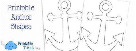 template anchor printable anchor template printable treats