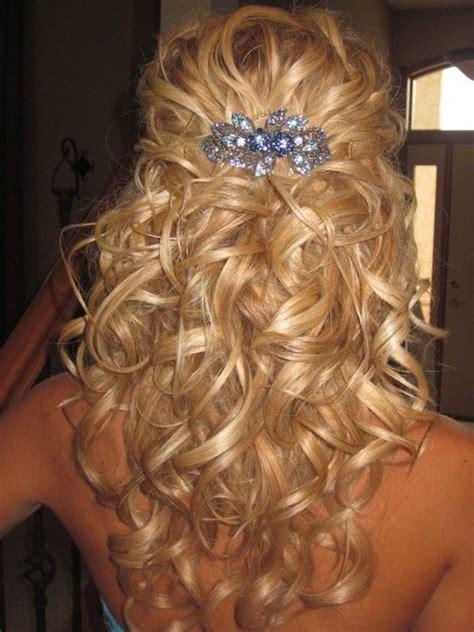 Wedding Hairstyles Half Up Half Wavy by Half Up Half Wavy Wedding Hairstyle With Hair