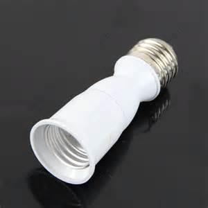 e27 to e27 extension socket base clf led light bulb l