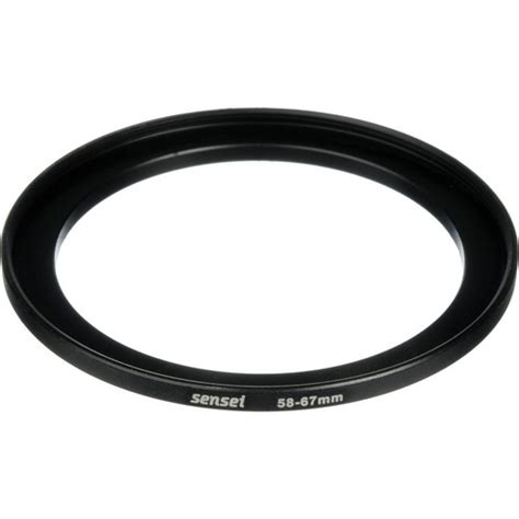 Step Up Ring 58 67 Mm by Sensei 58 67mm Step Up Ring Sur 5867 B H Photo