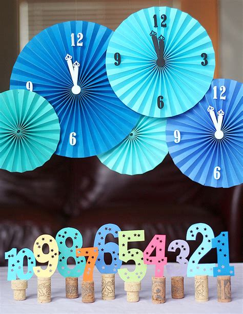 new year theme decorations 2012 new year s printables ideas pizzazzerie