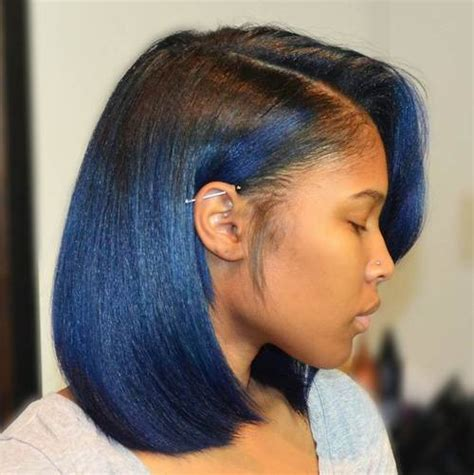 hair weave for feathered ombre hairstyle for african american only 60 showiest bob haircuts for black women