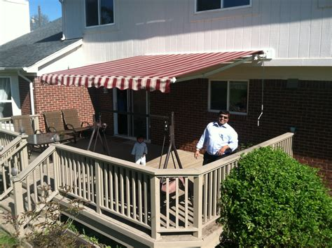 retractable awning michigan sunsetter retractable awnings harrison township