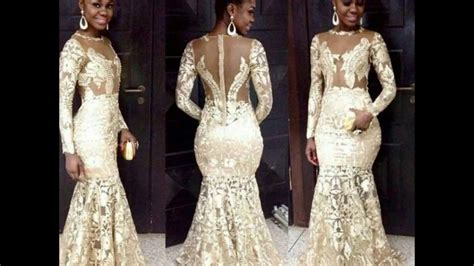 asoebi lace designs latest aso ebi styles with cord lace for weddings youtube