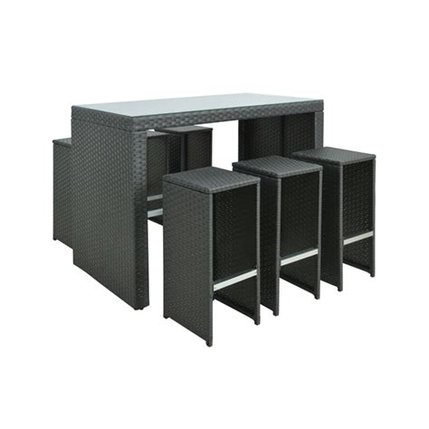 Bunnings Bar Table Mimosa 7 Bar Setting I N 3191960 Bunnings Warehouse