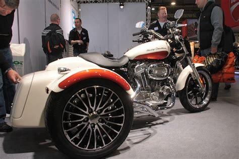 Motorrad F Hrerschein Trike by Umbauset F 252 R Harley Sportster 187 Zweiradmessen