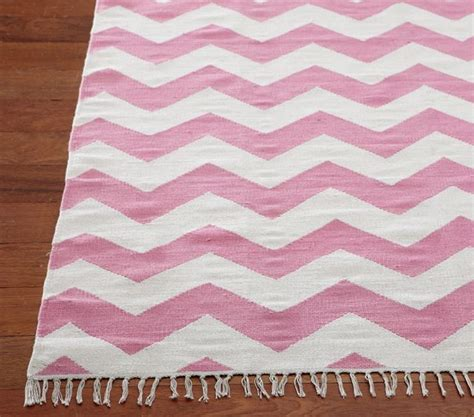 pink chevron area rug chevron rug pink contemporary rugs by pottery barn