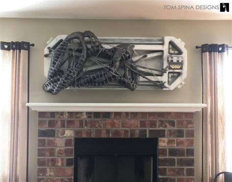 Sci Fi Home Decor Sculpture Home Theater Tom Spina Designs 187 Tom Spina Designs
