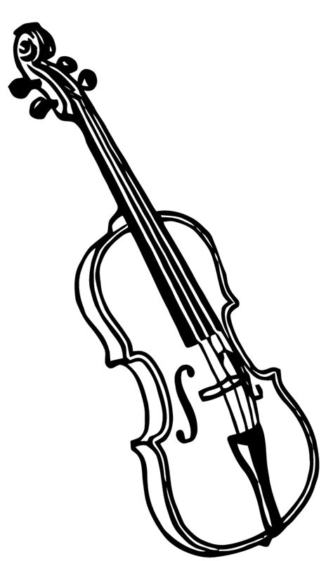 free coloring pages of violin