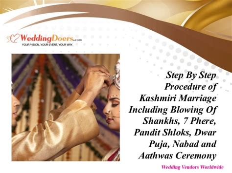 step by step procedure of kashmiri marriage including blowing of shan