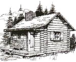 Log Cabin Drawings by Gallery For Gt Log Cabin Drawing