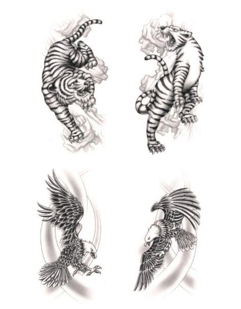 Album Magnetic Dlm White Sheets Seri Flowers Album Foto Album Tempelan tattoos quot eagle tiger quot waterproof black classic