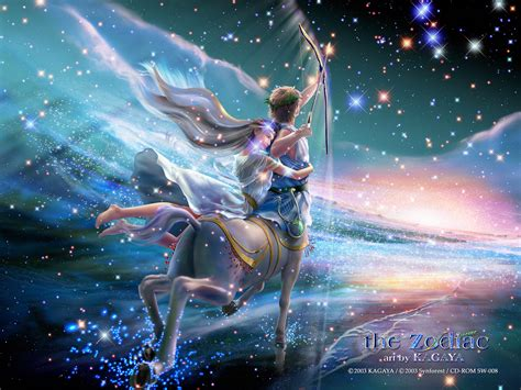 beautiful sagittarius wallpaper zodiac art by kagaya most beautiful places in
