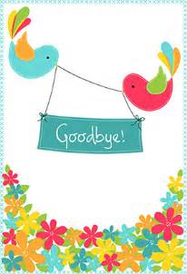 quot goodbye from your colleagues quot printable card customize