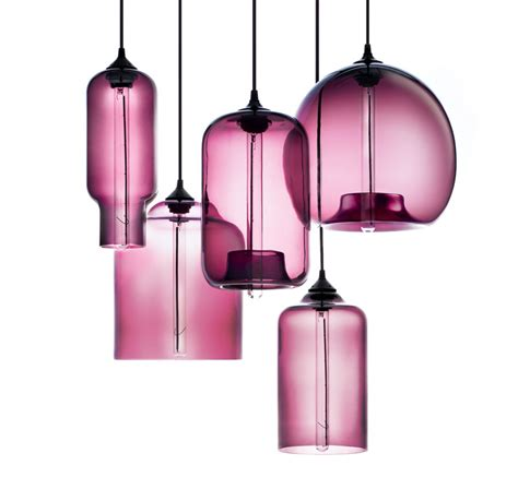 Modern Pendant Lighting by Niche Modern Plum Pendant Lights Featured In Martha
