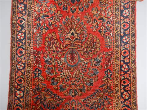 Middle Eastern Rugs For Sale by Antique Early 20c Middle Eastern Painted Field Floral
