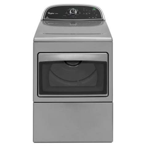 cabrio 7 4 cu ft gas dryer in chrome shadow