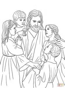 jesus loves all the children of the world coloring page