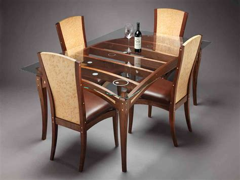 glass dining table 4 chairs glass top dining table set 4 chairs decor ideasdecor ideas