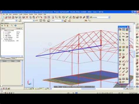 video tutorial robot structural analysis autodesk robot structural analysis tutorial 18 นคร