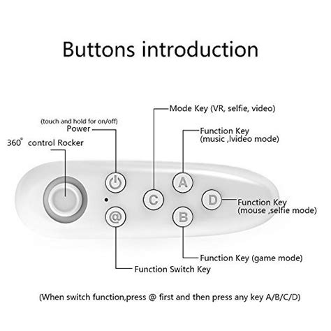 Termurah Vr Gear Box 2 Bluetooth Remote Gamepad Smartphone Joystick C jual vr gear box bluetooth remote gamepad joystick smart controller brothers pak eko
