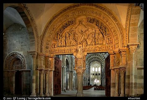 romanesque cathedral interior