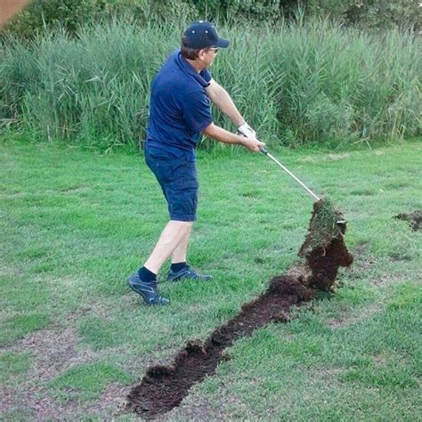 This Insanely Large Divot Can T Be Real Can It Golf Digest