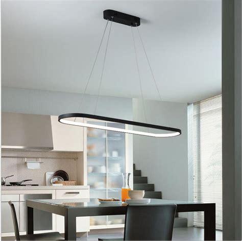 post modern chandelier rectangular dining room lamp simple