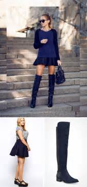 18 ways to pair boots with skirts brit co