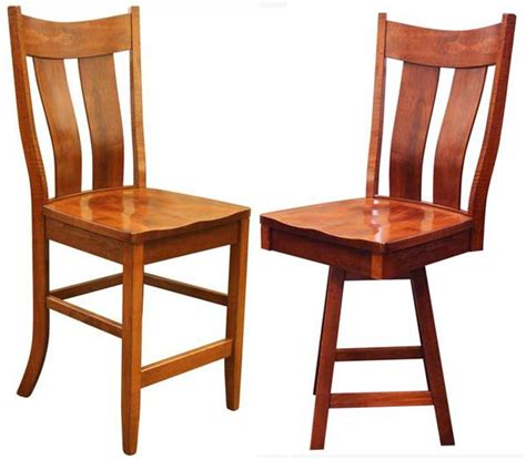 bar stools with back support this amish dual slat back dining bent back bar stool