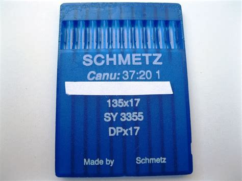 schmetz industrial sewing machine needles dpx17 sy3355 consew 206rb ebay
