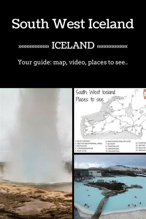 iceland the official travel guide books southwest iceland the guide places to see