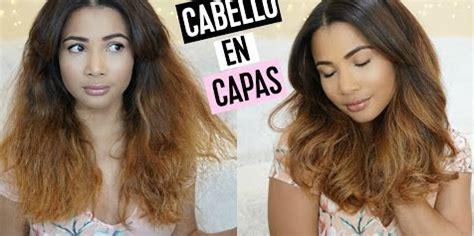 como cortar el cabello en capas largas uno mismo da volumen a tu pelo con un corte en capas belleza