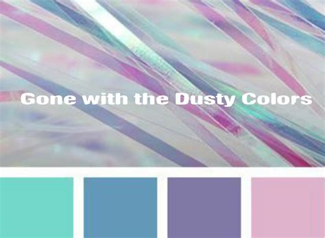 what color is dusty with the dusty colors