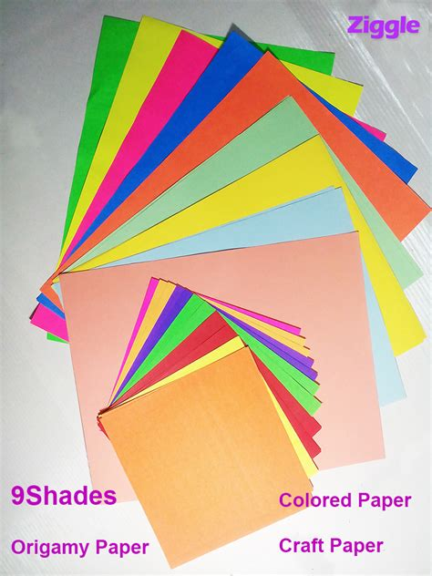 Rolling Paper Origami - origami paper fluoroscent paper pastel colored paper paper