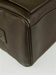 Louis Vuittons Ultimate Carry On Bag Travel Essentials by Louis Vuitton Grizzli Taiga Leather Ivan Carry On Bag