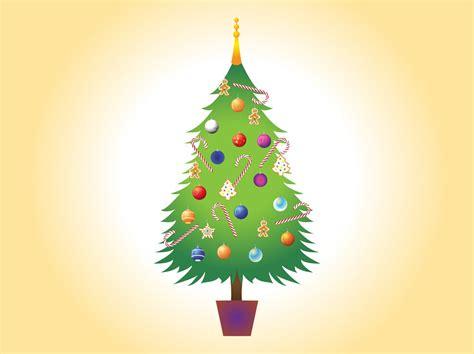 image of christmas tree christmas tree vector image vector art graphics