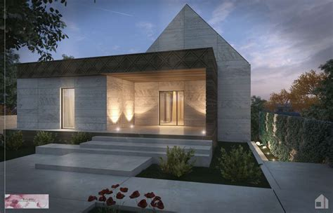 simple slanted roof modern house simple modern house plan modern house sloped roof