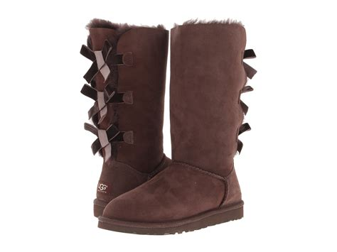 ugg bailey bow boot zappos exclusive shipped free