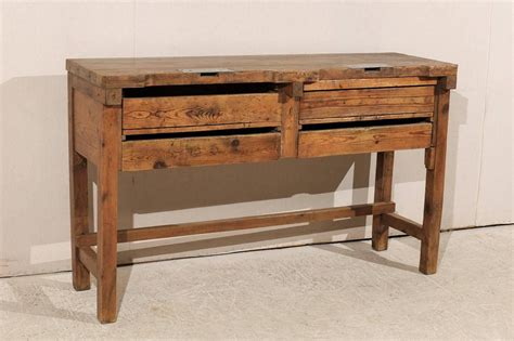 jewelers bench for sale 19th century jeweler s table or work bench for sale at 1stdibs