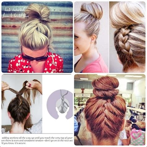 french braid your hair in 7 simple steps with a video simple french braid updo hairstyles for medium hair bun