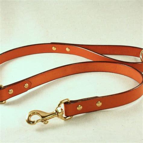 Handmade Leashes - handmade leather leash always an adventure