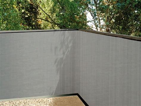balkonsichtschutz grau 90x300 kunststoff balkon