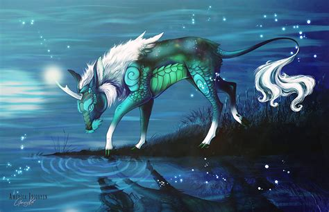 qilin hangul by garurykai on deviantart